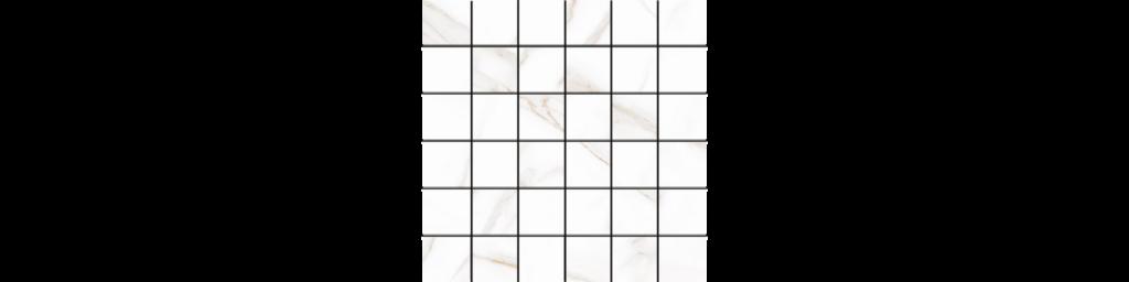 Sherron Oro 2x2 Mosaic matte porcelain tile