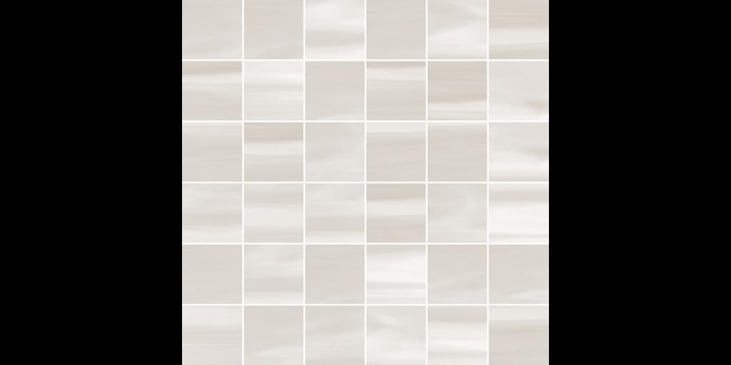 WinterStone 2x2 Mosaic 12x12 Sheet Porcelain Glacier Gray