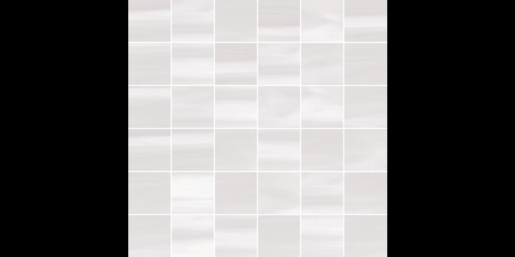 WinterStone 2x2 Mosaic 12x12 Sheet Porcelain Ice White