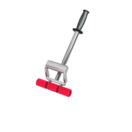 "Roller with Extension Handle. Ideal for countertops and walls. Includes 17"" - 27"" adjustable extension handle. Roller size: 7 1/2"" wide x 1 1/2"" diameter."