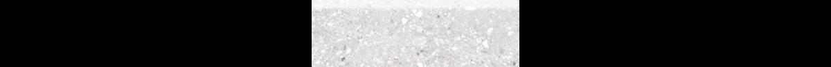 Mont Bianco Porcelain White 4x12 Bullnose Tile