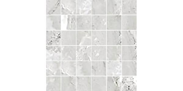 Moon Porcelain Gray 2x2 Mosaic Tile