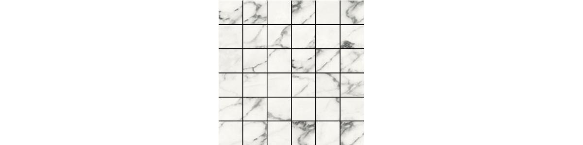 Earth Blanco Porcelain 2 x 2 Brick Mosaic Tile