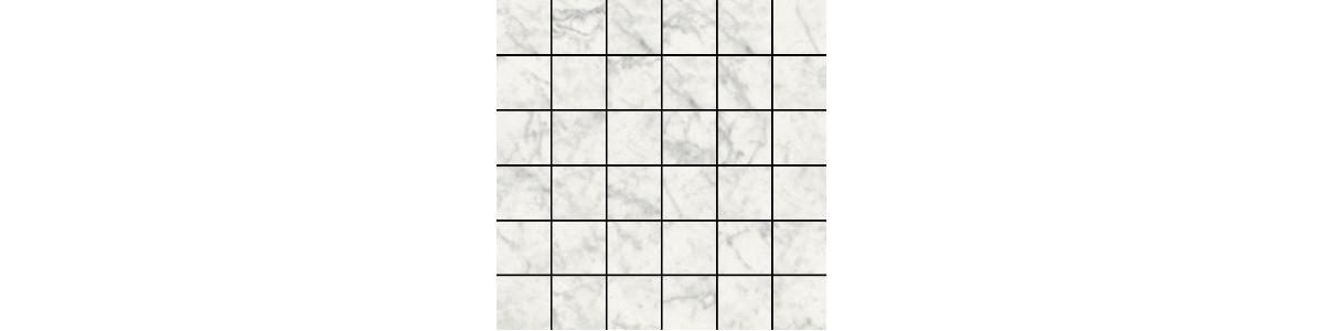 Earth Carrara Porcelain 2 x 2 Mosaic Tile